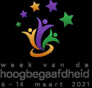 Logo van de week van de hoogbegaafdheid 2021 van 6 tot 14 maart